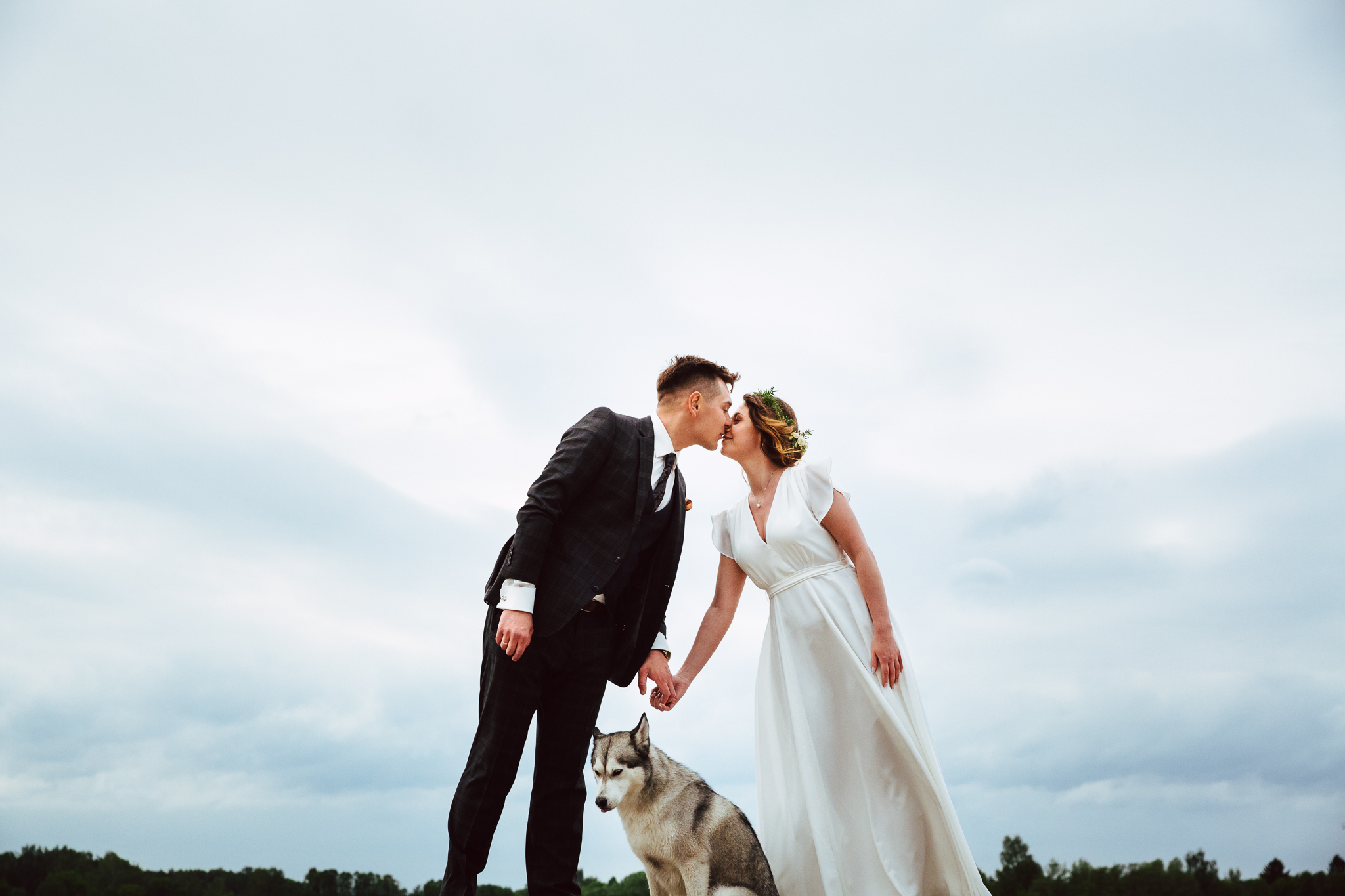 niekonwencjonalny kadr, zdjęcia z pasją i plener z psem
